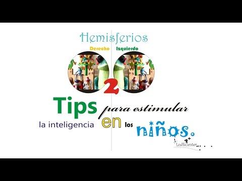Tips para estimular la inteligencia en los niños: Integración de los dos hemisferios