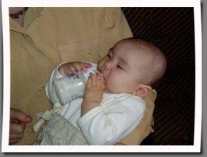mantener leche materna en el biberón