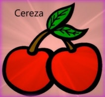 repetir nombre de la fruta al niño