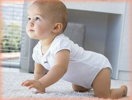 motivar el gateo en los bebes