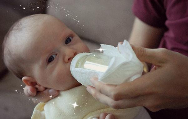 lactancia a través de la mamadera