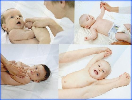 mover los brazitos del bebe