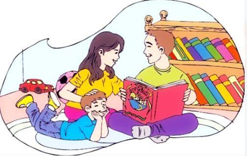 educar en casa mediante la lectura a niños