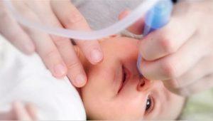 aspirador nasal de cánula para bebé