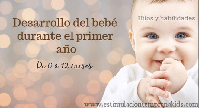 desarrollo del bebé en el primer año (0 a 12 meses)