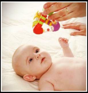hitos del desarrollo sensorial en bebe