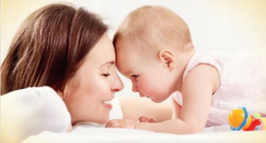 la sonrisa de mi bebe