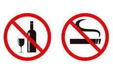 no fumar ni tomar durante el embarazo