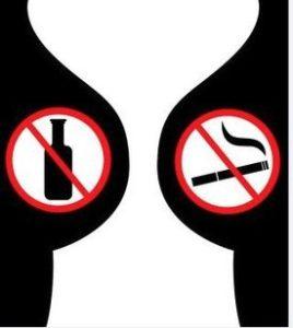 No fumar durante el embarazo