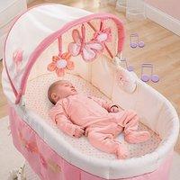 bebé durmiendo en cuna